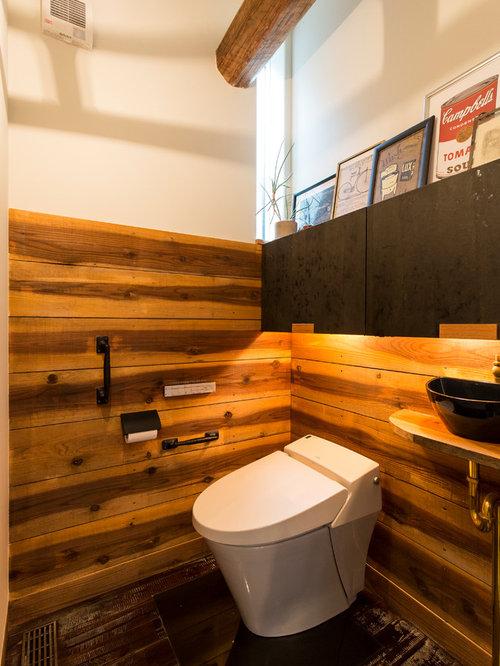 landhausstil g stetoilette g ste wc mit bunten w nden ideen f r g stebad und g ste wc design. Black Bedroom Furniture Sets. Home Design Ideas