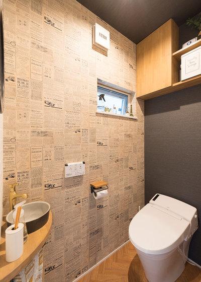 北欧 トイレ・洗面所 by KEIJI 一級建築士事務所