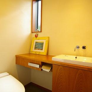 Идея дизайна: туалет в стиле ретро