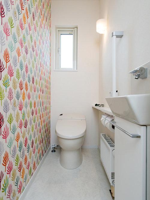 skandinavische g stetoilette g ste wc mit toilette mit aufsatzsp lkasten ideen f r g stebad. Black Bedroom Furniture Sets. Home Design Ideas