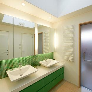 モダンスタイルのおしゃれなトイレ・洗面所の写真