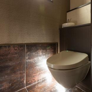名古屋の和風のおしゃれなトイレ・洗面所の写真