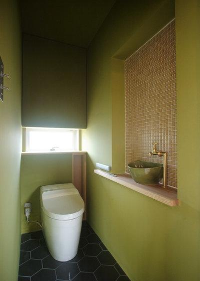 コンテンポラリー トイレ・洗面所 by 住生活空間株式会社 ウッドレーヴ