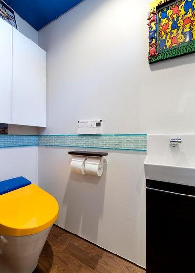 モダン トイレ・洗面所 by 株式会社ヴァンクラフト空間環境設計