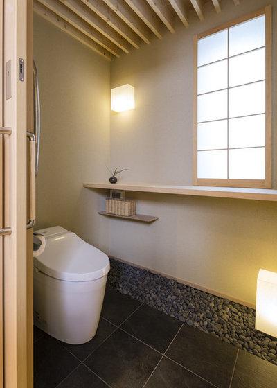 和室・和風 トイレ・洗面所 by SQOOL一級建築士事務所