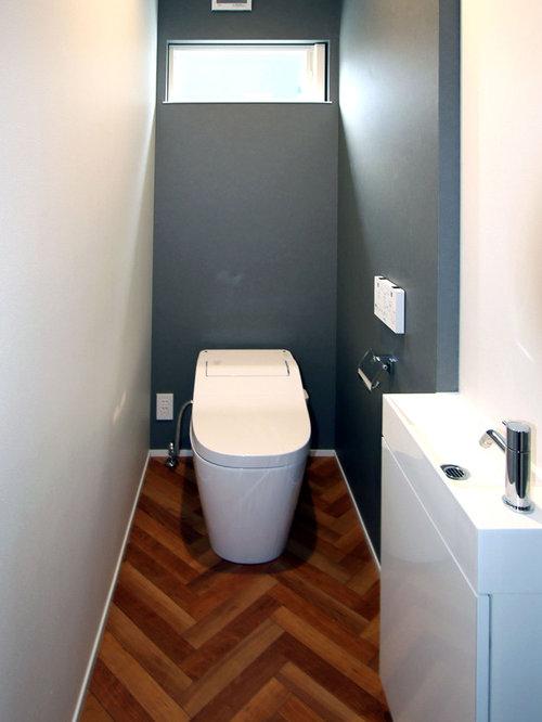 Foto e Idee per Bagni di Servizio - bagno di servizio con pavimento ...