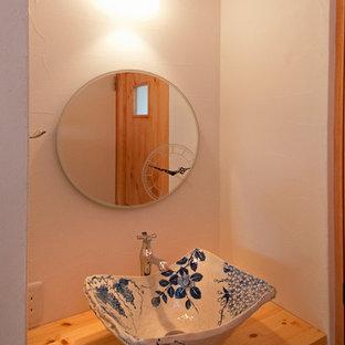 Powder room - craftsman powder room idea in Other
