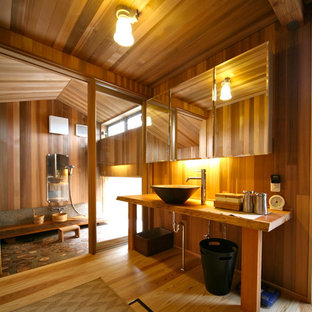 This is an example of a world-inspired cloakroom in Other.