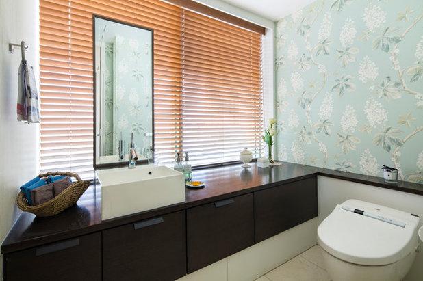 コンテンポラリー トイレ・洗面所 by ケイセブンデザインスタジオ