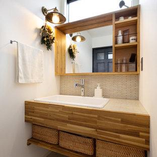 名古屋の北欧スタイルのおしゃれなトイレ・洗面所の写真