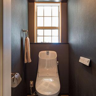 名古屋のミッドセンチュリースタイルのおしゃれなトイレ・洗面所の写真