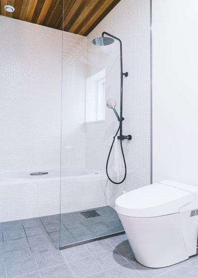 トイレ・洗面所 by 株式会社ハルタ建築設計事務所