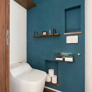 Идея дизайна: туалет в стиле модернизм