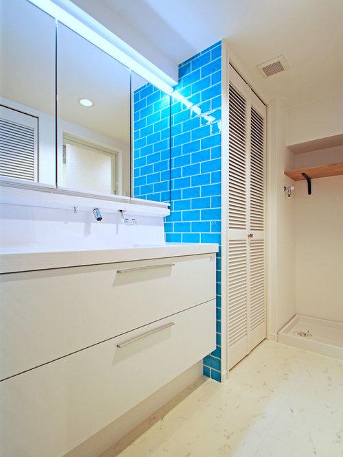 25 Best Cloakroom With Vinyl Flooring And Metro Tiles