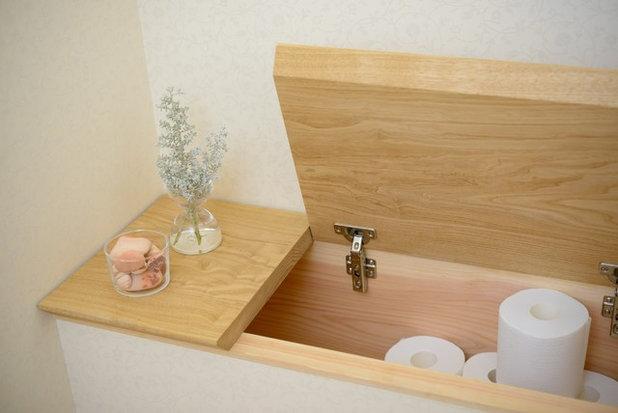 北欧 トイレ・洗面所 by Interior & Lifestyle Design RH+ (アールエイチプラス)