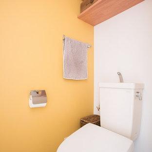 名古屋の地中海スタイルのおしゃれなトイレ・洗面所の写真