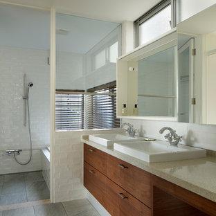 他の地域の北欧スタイルのおしゃれなトイレ・洗面所の写真