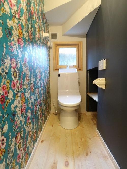 g stetoilette g ste wc mit waschtisch aus holz asiatisch ideen f r g stebad und g ste wc. Black Bedroom Furniture Sets. Home Design Ideas