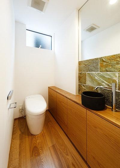 Skandinavisch Gästetoilette By 一級建築士事務所haus