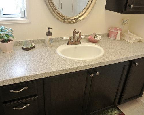 g stetoilette g ste wc mit terrazzo waschtisch klassisch. Black Bedroom Furniture Sets. Home Design Ideas