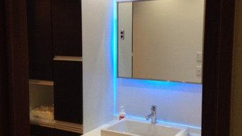LED洗面