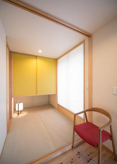 和室・和風 ファミリールーム by 北村建築工房