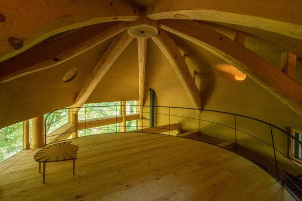 コンテンポラリー ファミリールーム by 遠野未来建築事務所
