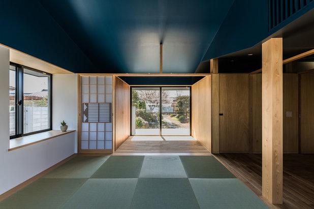 コンテンポラリー ファミリールーム by Smart Running 一級建築士事務所