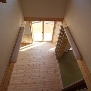 カントリー調の内観デザインのゼロエネルギー住宅