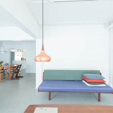 コペンハーゲンで揃えた家具を生かしたかった家