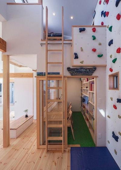アジアン ファミリールーム by 磯貝地域建築設計事務所