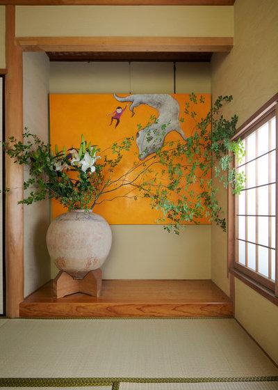 和室・和風 ファミリールーム by Brian Sawazaki Photography