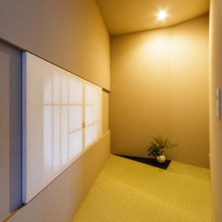 神戸のコンテンポラリースタイルのおしゃれなファミリールームの写真