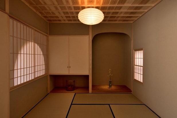 和室・和風 ファミリールーム by 株式会社 松井郁夫建築設計事務所