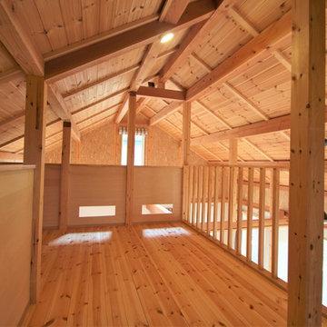 宿泊できる体感型モデルハウス『アースティ・ラボ』