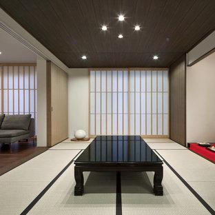 福岡のアジアンスタイルのおしゃれなファミリールーム (畳) の写真