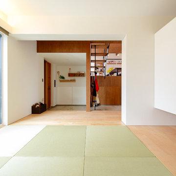 明るくオープンな和室