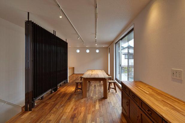 コンテンポラリー ファミリールーム by ARCHITECT'S OFFICE 3NOYA