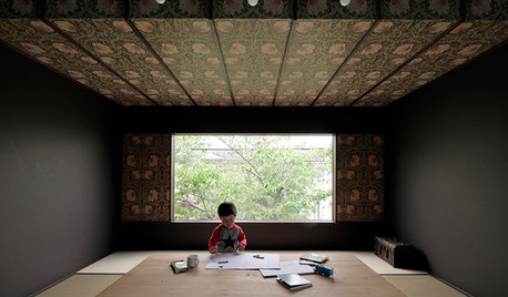 Una Casa Giapponese con Mega Vista sulla Fioritura Dei Ciliegi