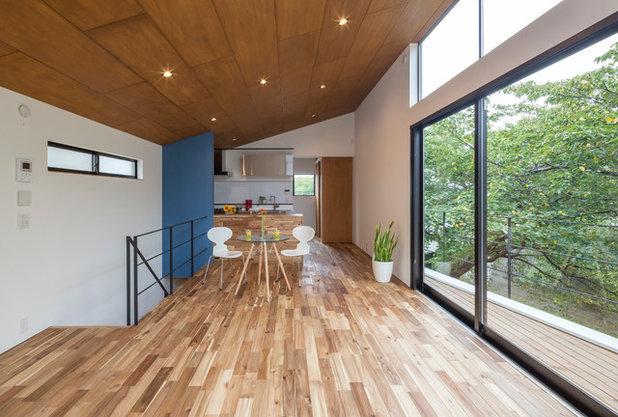 コンテンポラリー ファミリールーム by 小野澤裕子建築設計事務所