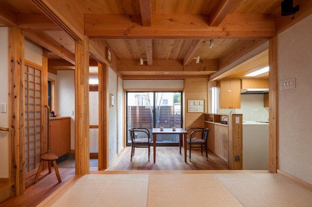和室・和風 ファミリールーム by 有限会社光設計 一級建築士事務所