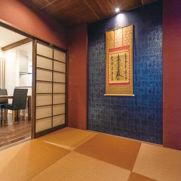 癒やし和モダン×ラグジュアリーモダン 完全分離型の二世帯住宅