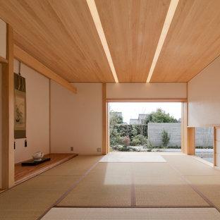 名古屋の和風のおしゃれなファミリールームの写真