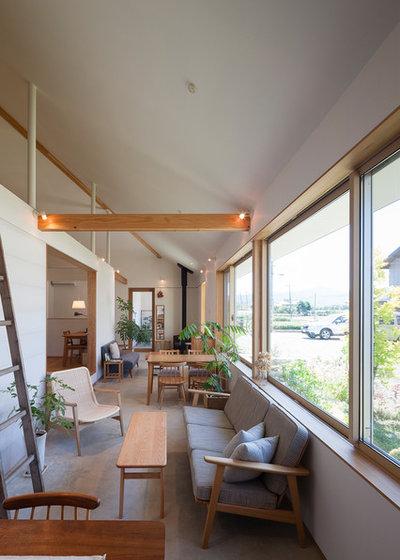 コンテンポラリー ファミリールーム by 一級建築士事務所 暮らしと建築社