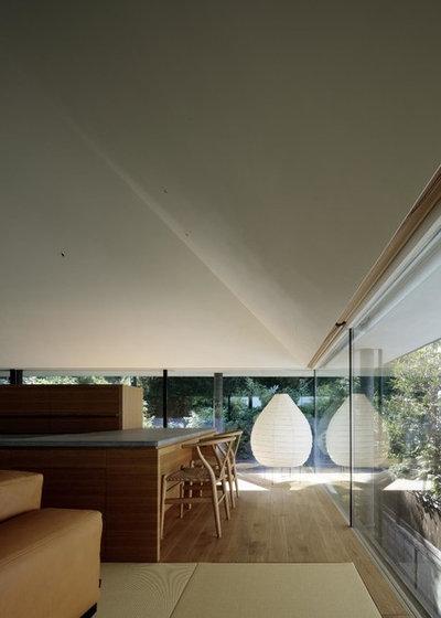 モダン ファミリールーム by 石井秀樹建築設計事務所 Ishii Hideki Architect Atelier