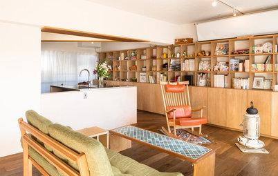 家をつくり、家を知る。名作団地《桜台ビレジ》を住み継ぐ家族のリノベーション