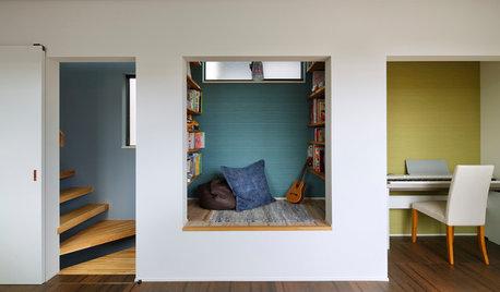 幅4mの家に光を満たし、めりはりの効いたワイド感を生み出した「7つの工夫」