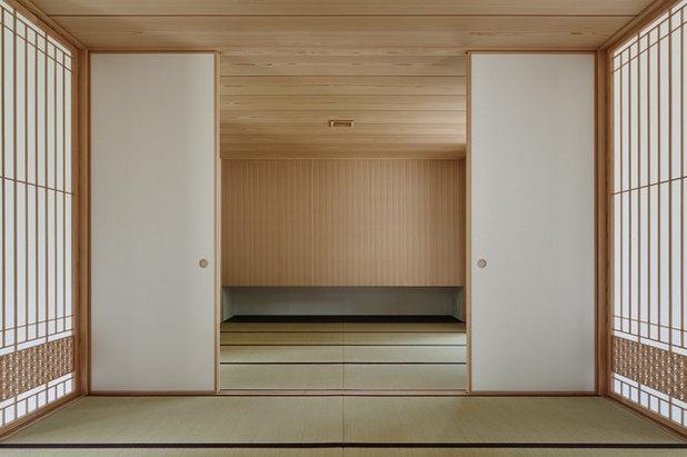 和室・和風 ファミリールーム by アトリエ137   atelier137 Architectural Design Office