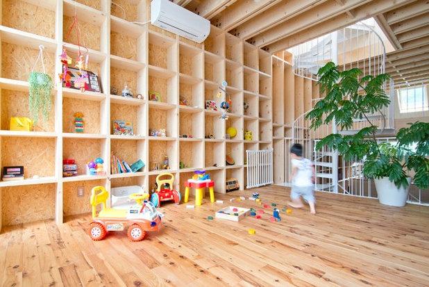 コンテンポラリー ファミリールーム by 葛西潔建築設計事務所