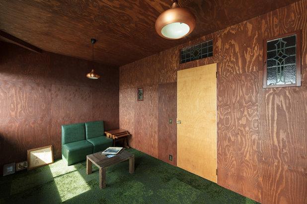 コンテンポラリー ファミリールーム by SQOOL一級建築士事務所